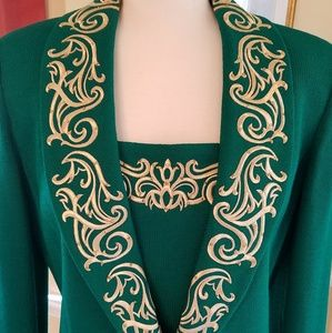 St. John's by Marie Gray Suit Jacket & Skirt